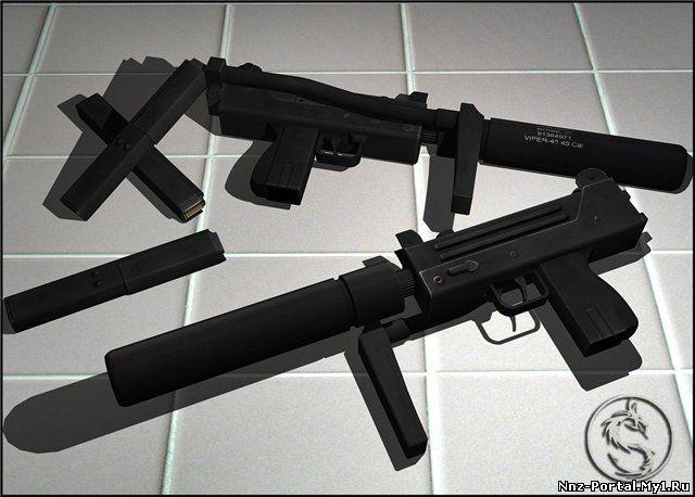 скачать MAC10 для css бесплатно - B3 пистолеты-пулемёты для css